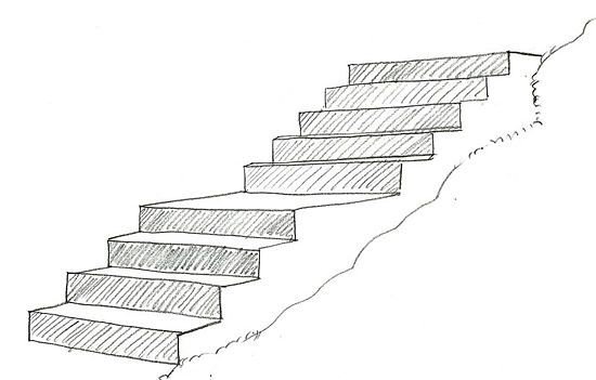 How To Draw Stairs: 7 Steps (with Pictures)   WikiHow