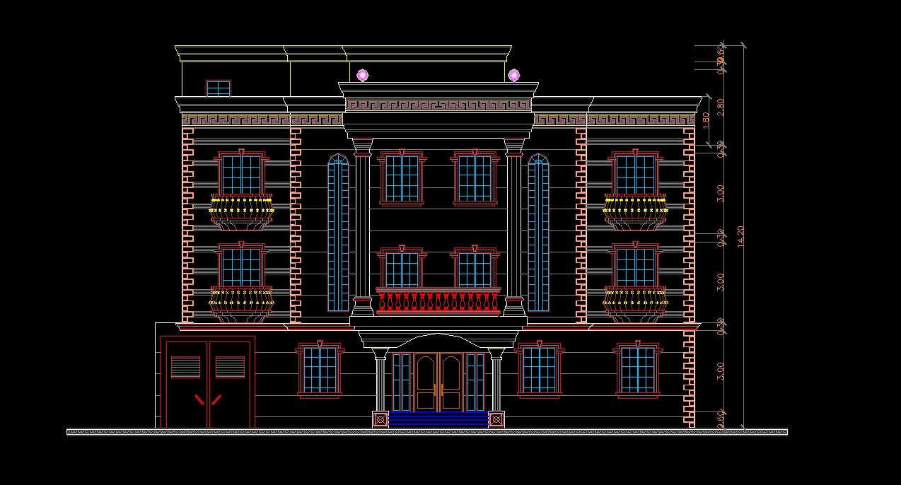 Here is a beautiful collection of Building elevation