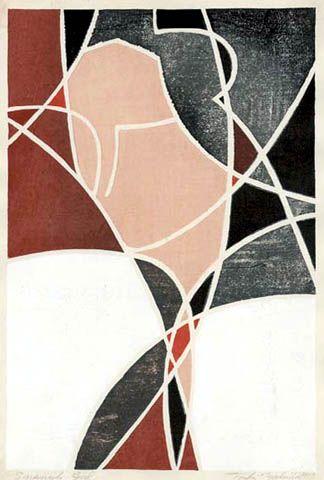 Spanish Girl By Toshi Yoshida Japanese Woodblock Printing Japanese Art Modern Japanese Painting