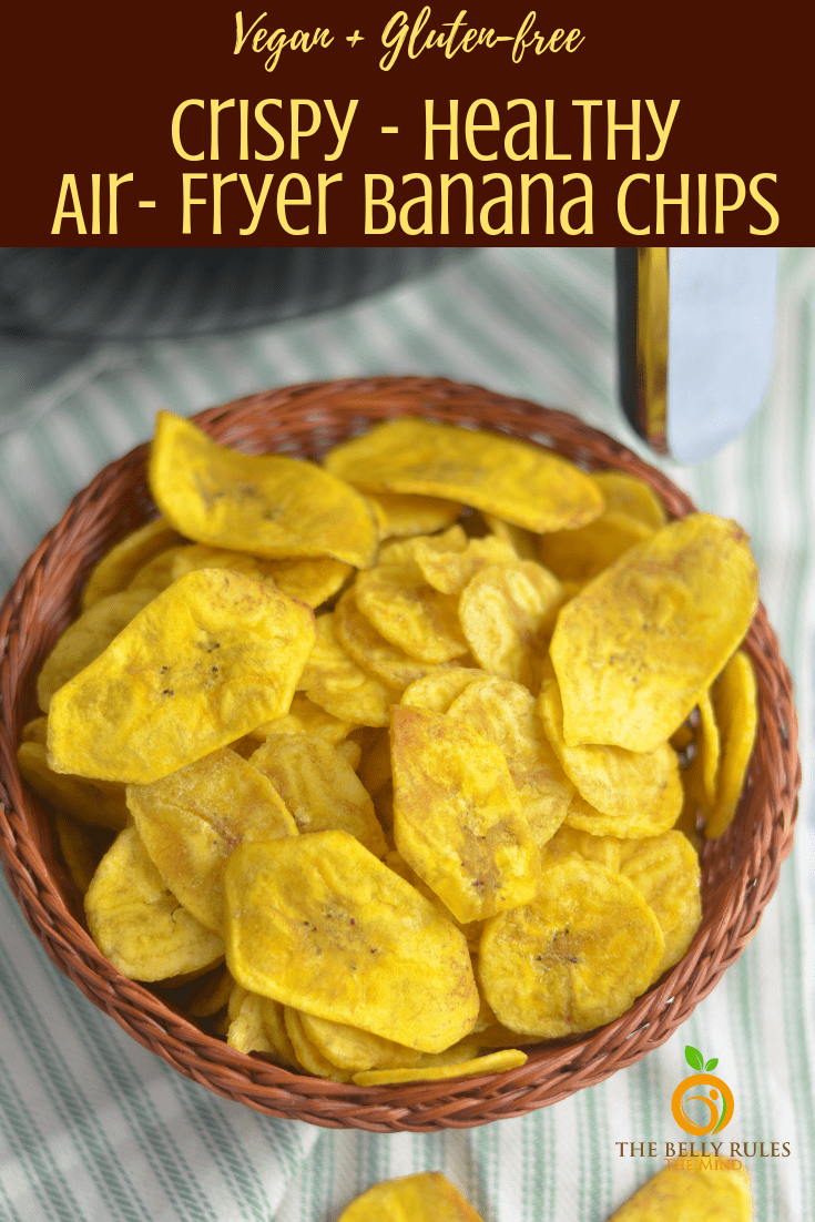 Healthy Plantain chips Banana chips Recipe in 2020