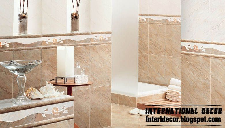Bathroom Wall Tile Designs tile patterns for shower walls | bathroom-wall-tiles-design-beige