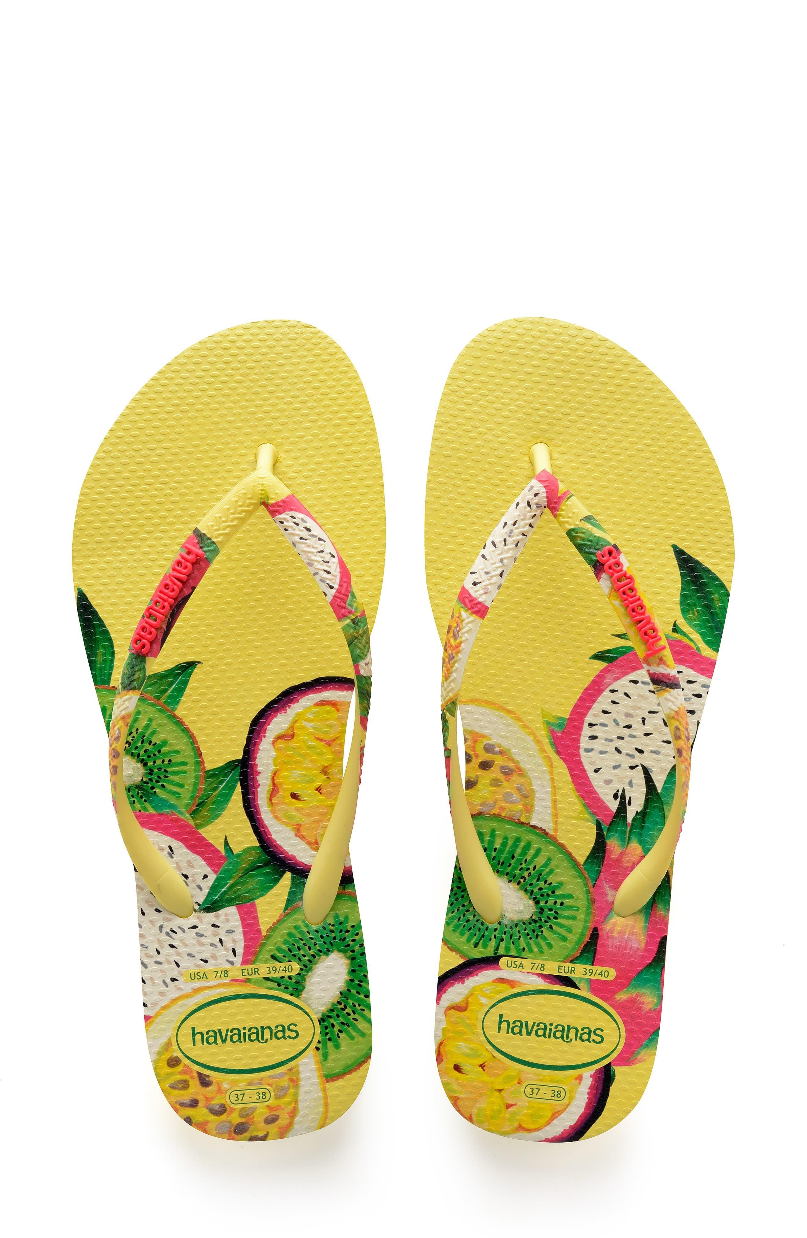 d07e70ee390d1 Women's Havaianas Slim Sensation Flip Flop, Size 35/36 BR - Green in ...