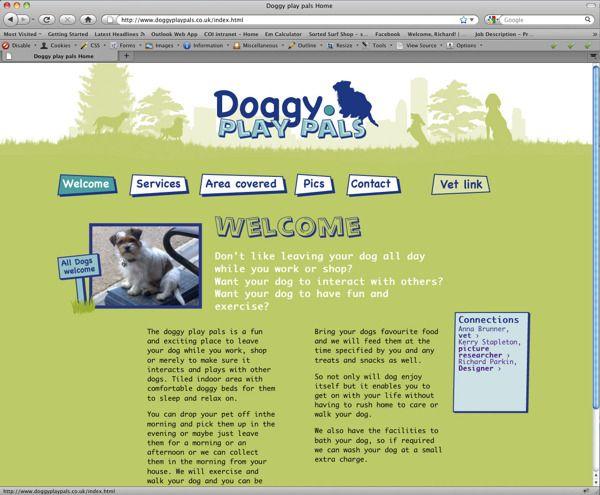 Doggyplaypals Co Uk Doggy Web Design Inspiration Animal Hospital