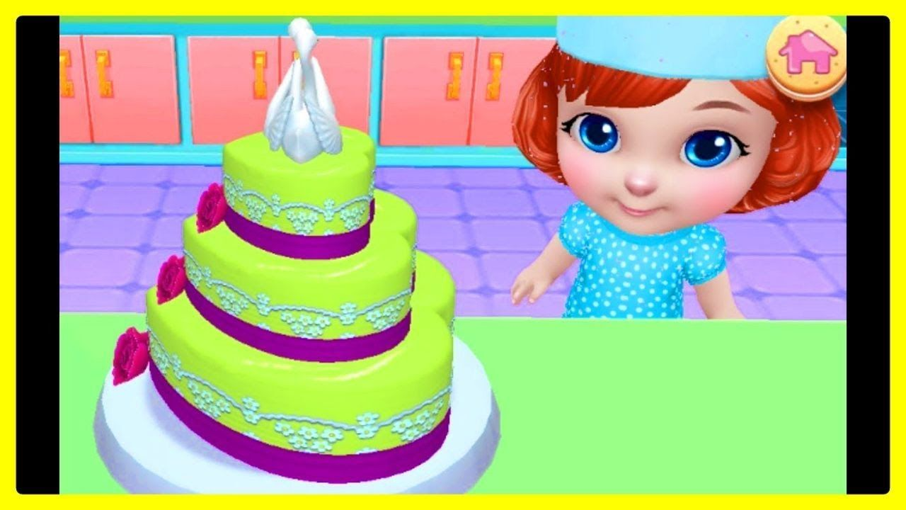 Real Cake Maker 3D Bakery By Coco Play - Fun care Makeover & Desing ...