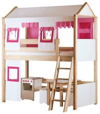 spielbett stadthaus hochbetten abenteuerbetten kindermöbel debe ... - Kinder Abenteuerbett Hochbett Ideen Kinderzimmer