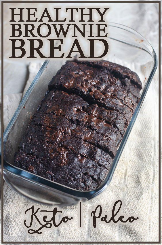 Healthy Keto Brownie Bread - The Harvest Skillet If you're looking for a fun and different recipe