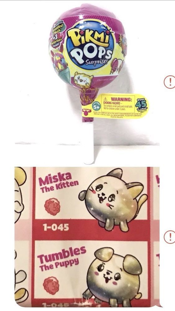 Details about Pikmi Pops Surprise! Series 1 HOODOO/ TAMBO