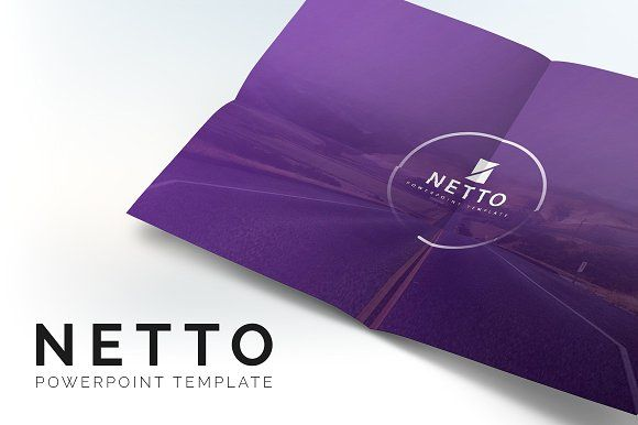 Netto Powerpoint Template By Brandearth On Creativemarket