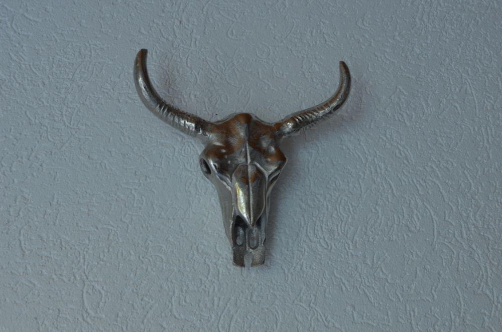 Skull Wandornament Deko Stierkopf Must Haves Stierkopf Stier
