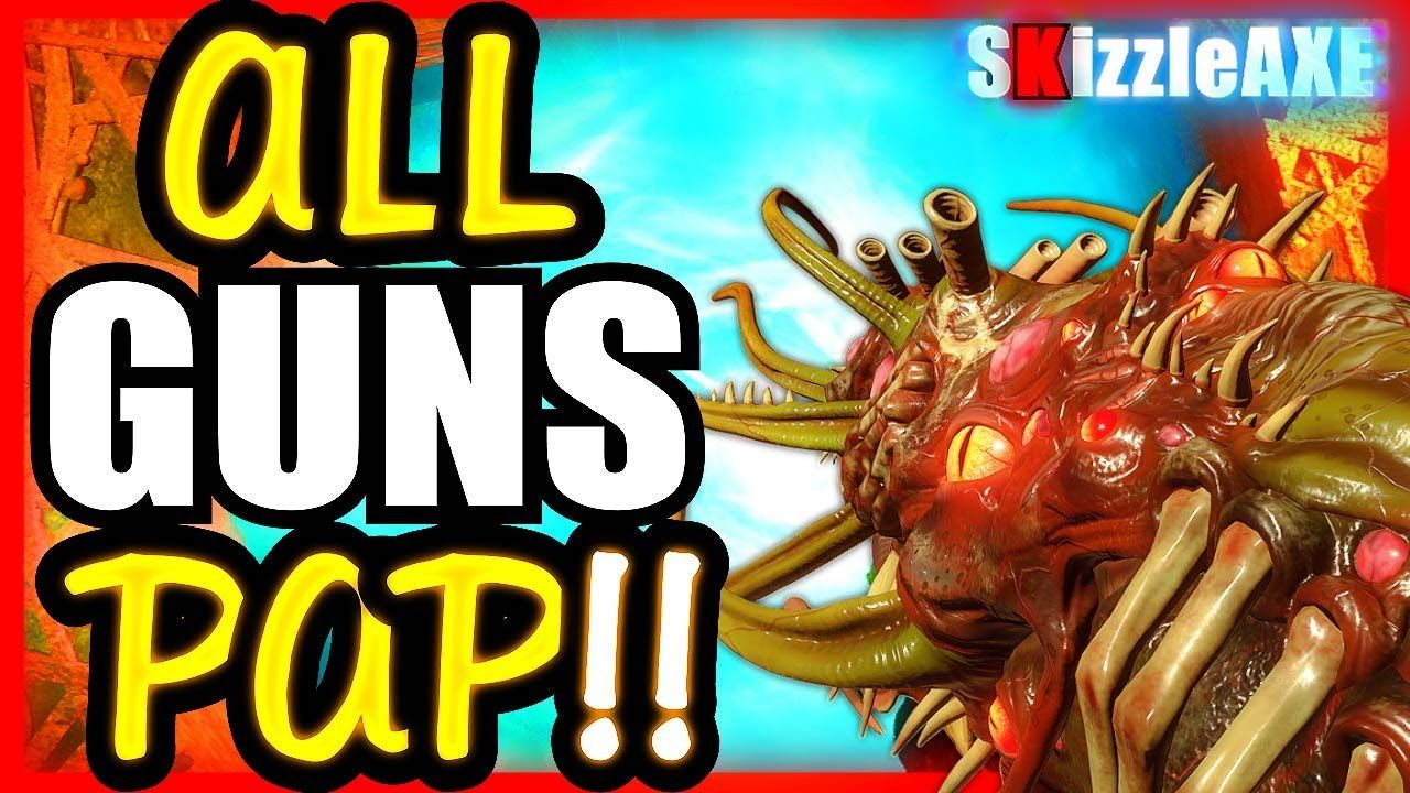 Shadows Of Evil All Guns Pack A Punch Challenge Black Ops 3