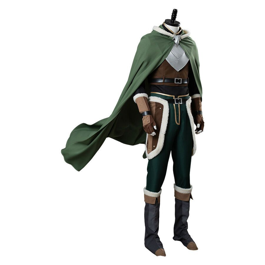 The Rising of The Shield Hero Naofumi Iwatani Cosplay Costume Cloak Boots Suit