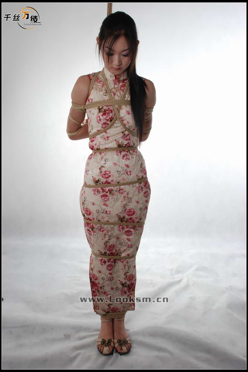 Cheongsam bondage models something
