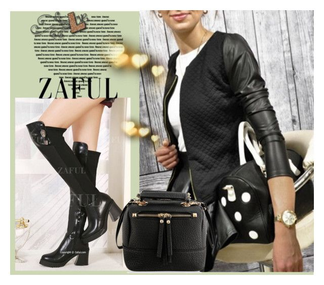 """www.zaful.com/?lkid=5231"" by helena1990 ❤ liked on Polyvore featuring moda y zaful"