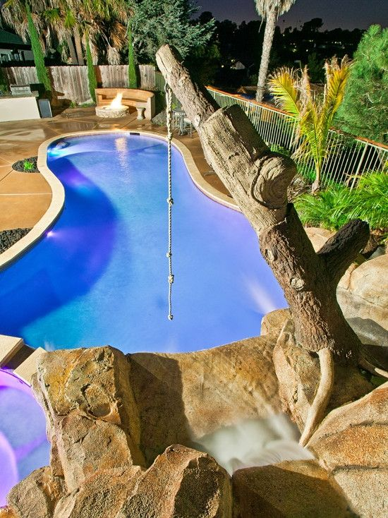 Rope Swing For Backyard Pool I May Need To Do This For