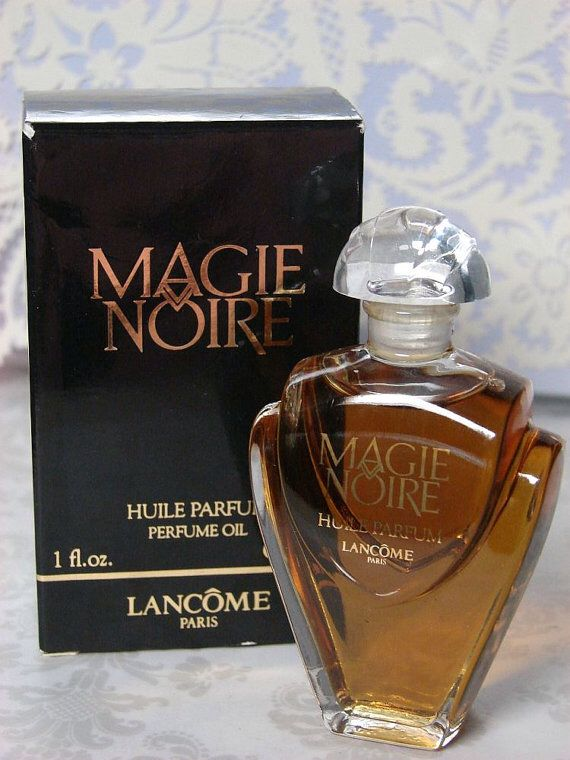 39aa0113f8f LANCOME- Magie Noire (Black Magic). Launched in 1950.