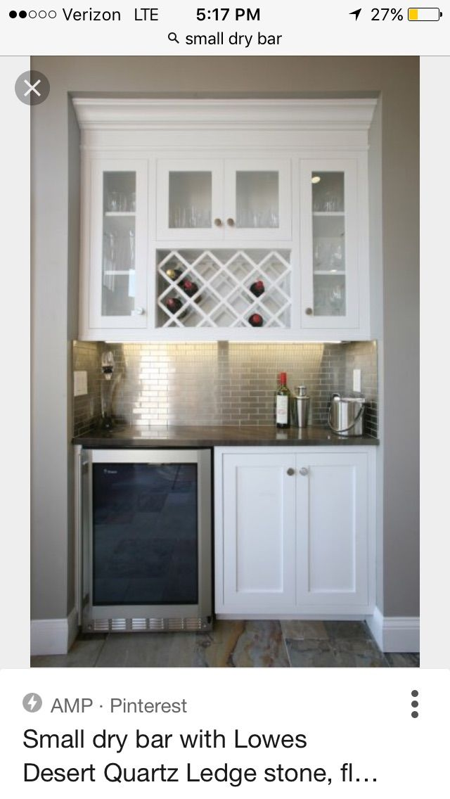 Small Dry Quot Bar Quot Kitchenette In Basement For Kid Snacks