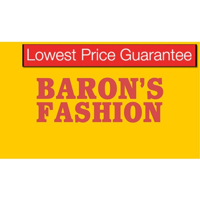 GET THE LOWEST PRICE GUARANTEE @ BARON'S FASHION More information: https://www.whitecardasia.com/partner/barons/