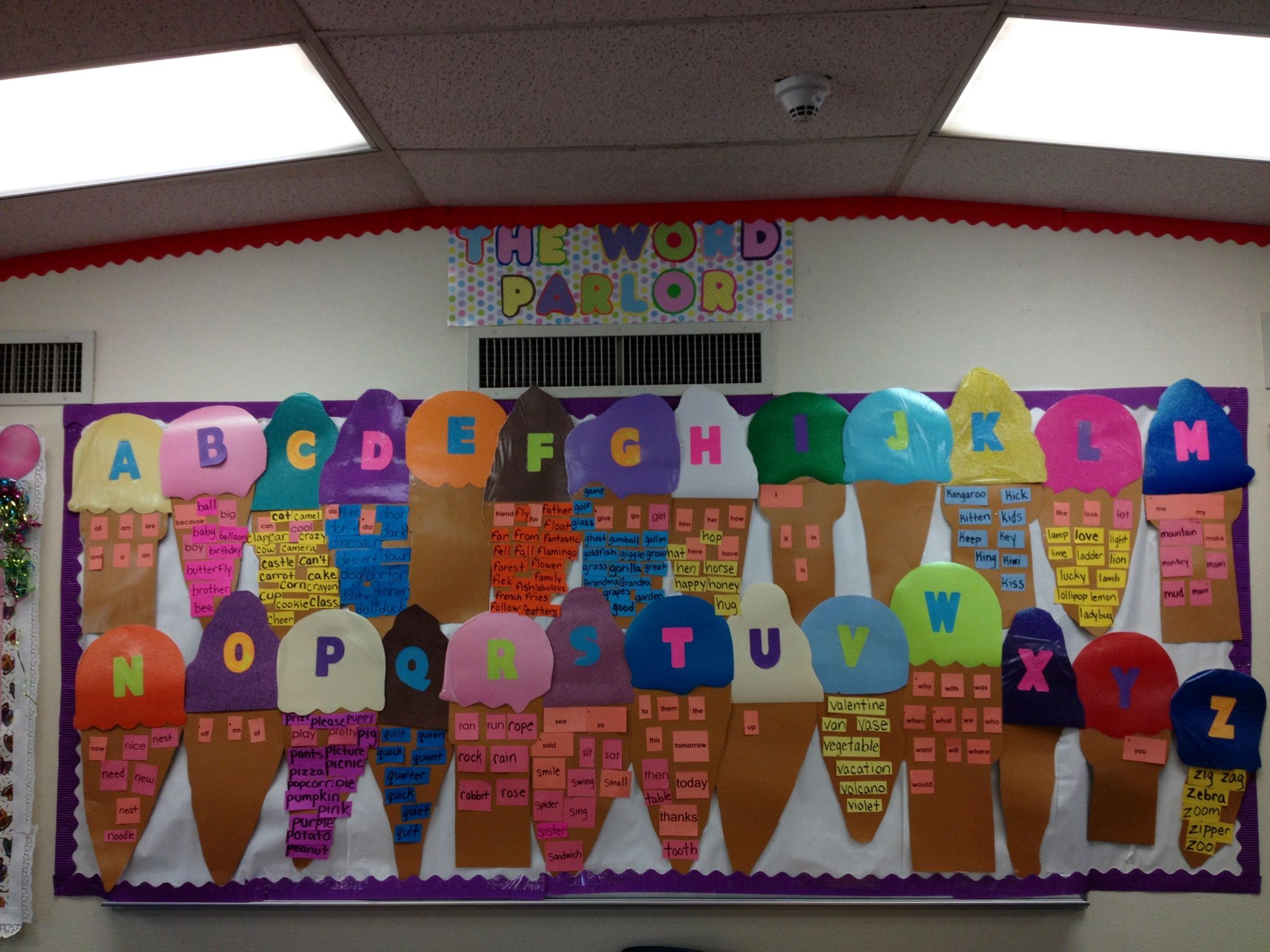 Sight Word Wall For Kindergarten