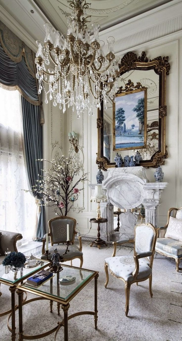 Photo of Beautiful Photo of Interior Classic French Country Which Will Make You Speechles…