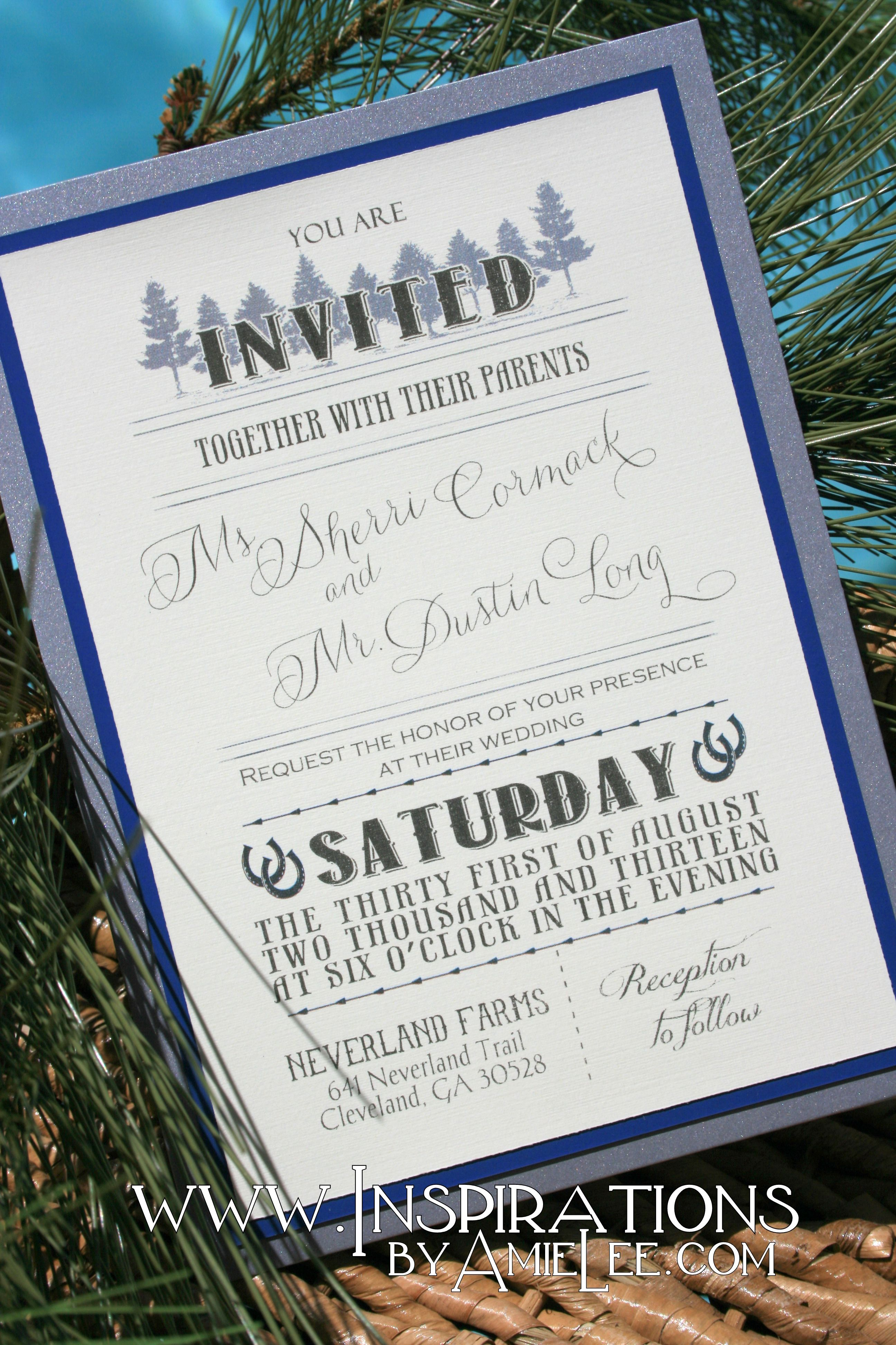 Rustic Wedding Invitations | Bridezilla | Pinterest | Weddings ...