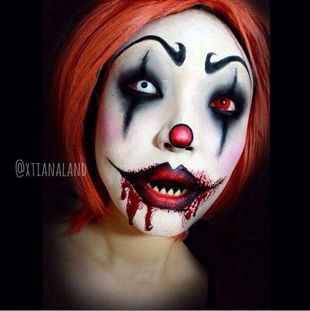 Evil Clown Makeup Scary Clown Makeup Creepy Clown Makeup