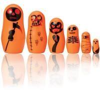 Matrioskas para Halloween