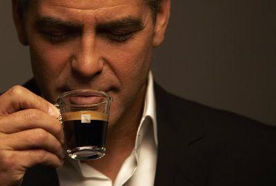 George Clooney As A Nespresso Spokesman