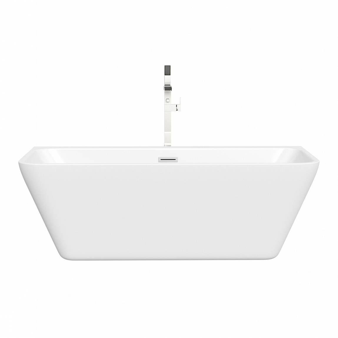 Small Back To Wall Bath Part - 16: Mode Verso Back To Wall Bath