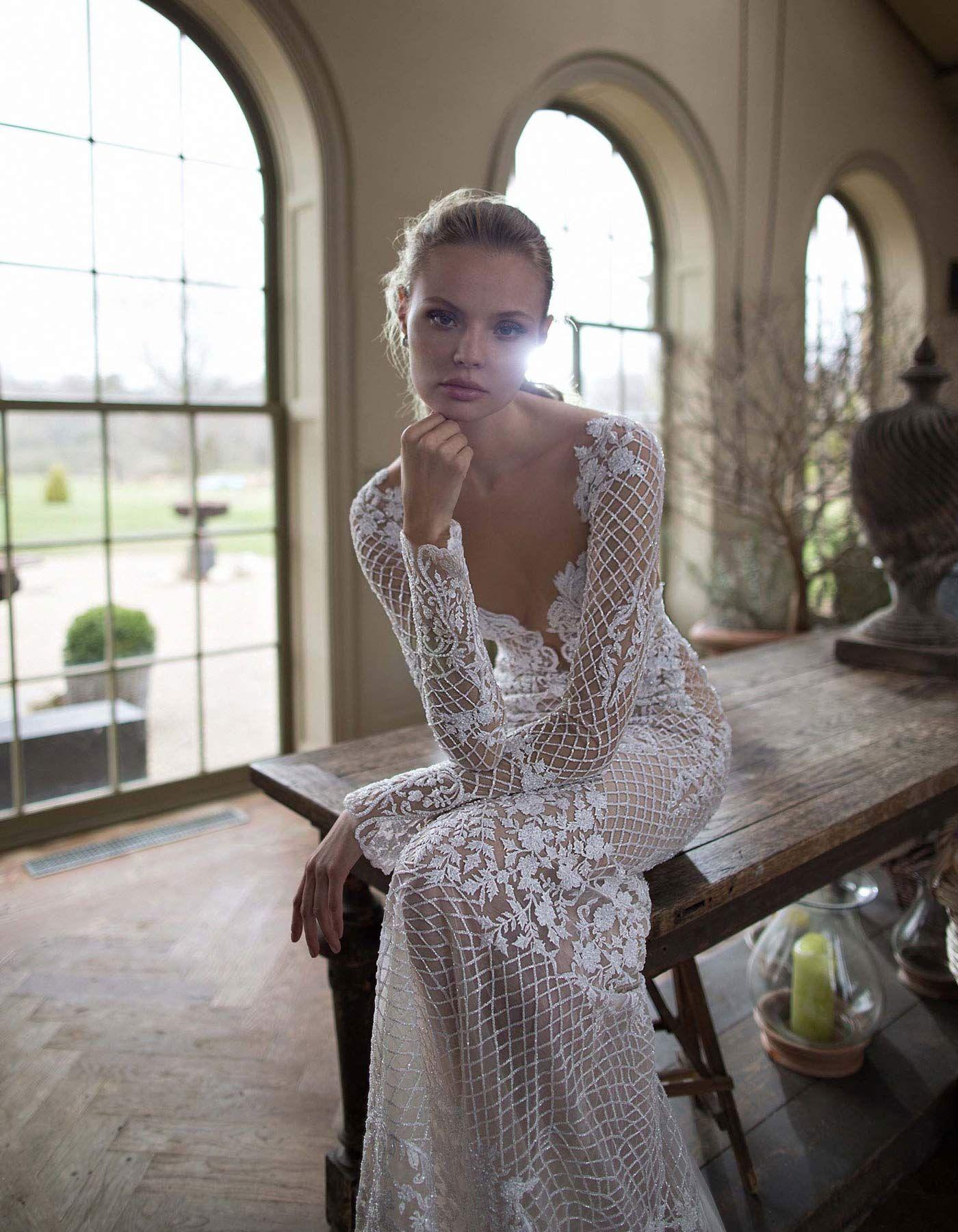 5 wedding dresses from Raffaele Ciuca featuring bold lace. Sexy ...