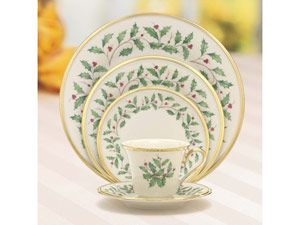 #holiday cooking (6sets) 5-pc. Holiday Dinnerware Place Setting by Lenox by Lenox at Cooking.com
