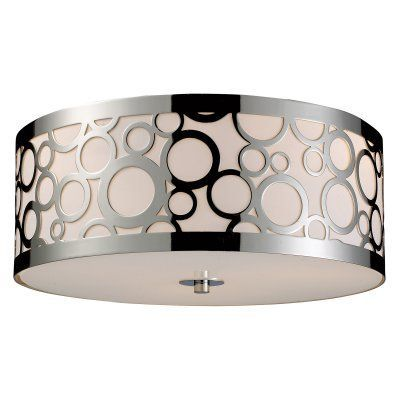 ELK Lighting Retrovia Flush Mount 31024/3 - 16W in. - 31024/3, ELI699