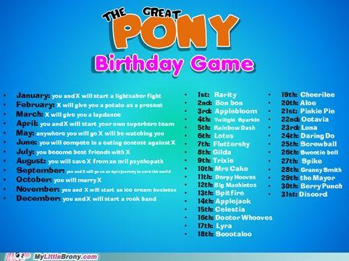 the great pony birthday game pinterest friendship pony and