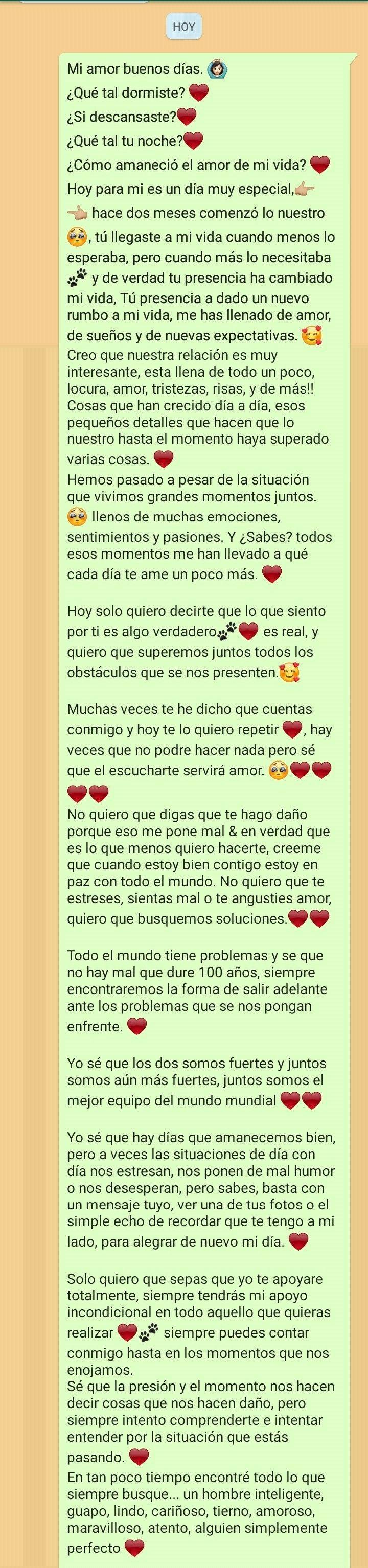 2 Meses Mensajes De Texto Bonitos Mensajes De Texto De Amor Palabras Para Mi Novio