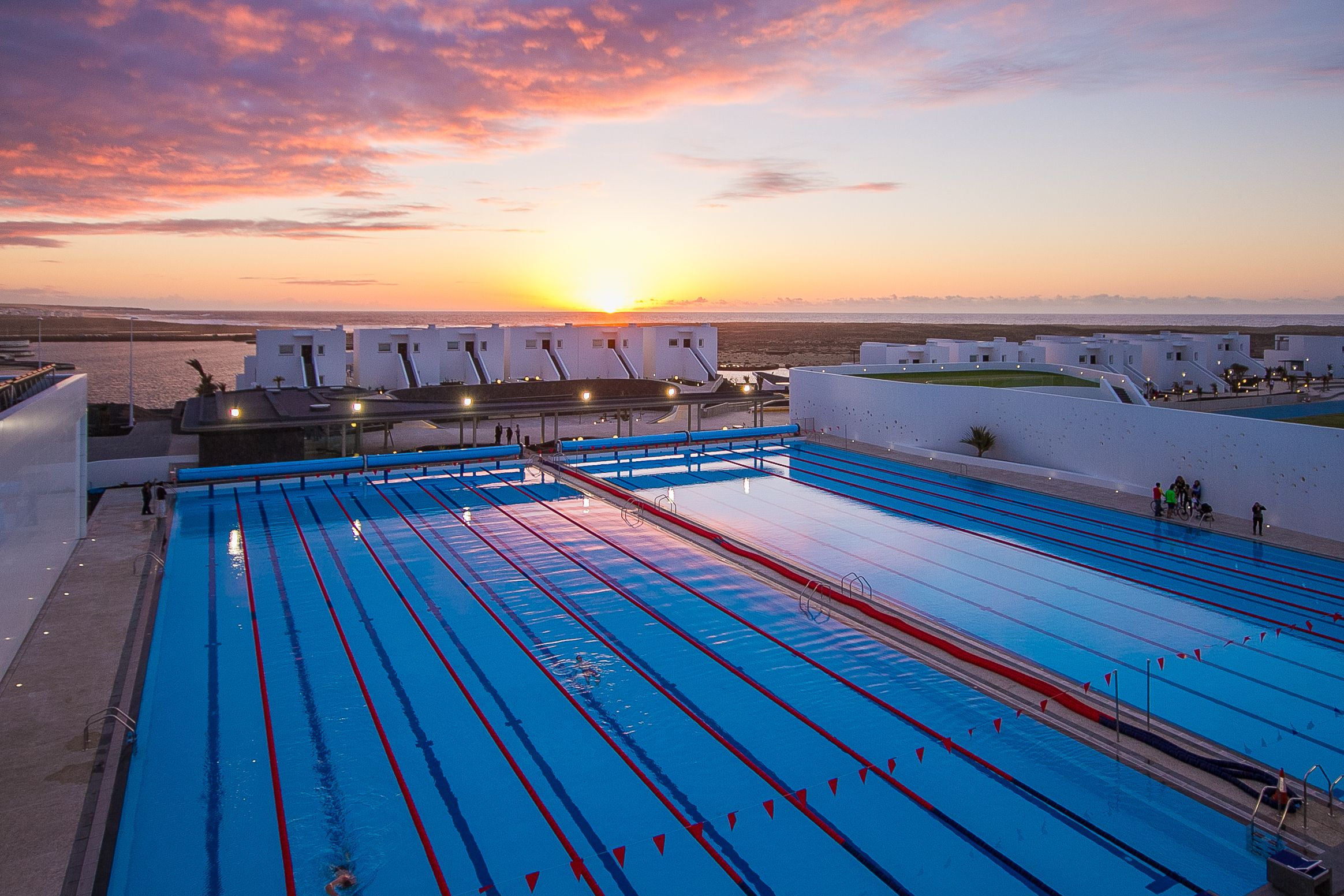 Club la santa complex lanzarote canarias dive into one - How many olympic sized swimming pools in uk ...