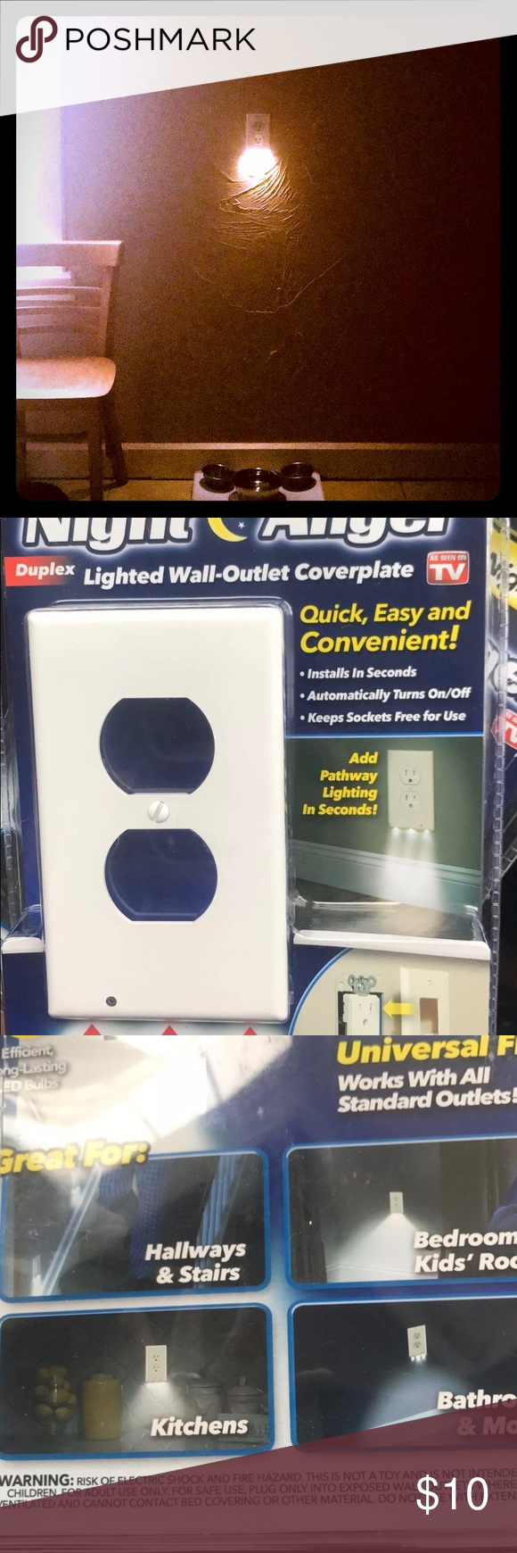 Angel light (AS SEEN ON TV) Installs in seconds