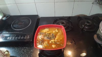 My kitchen and my recipes: Katla Fish cooked with vegetables