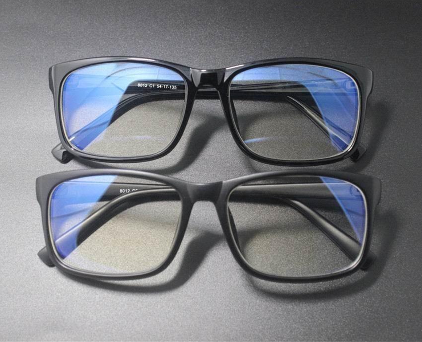 Computer gaming glasses blue light blocking crystal