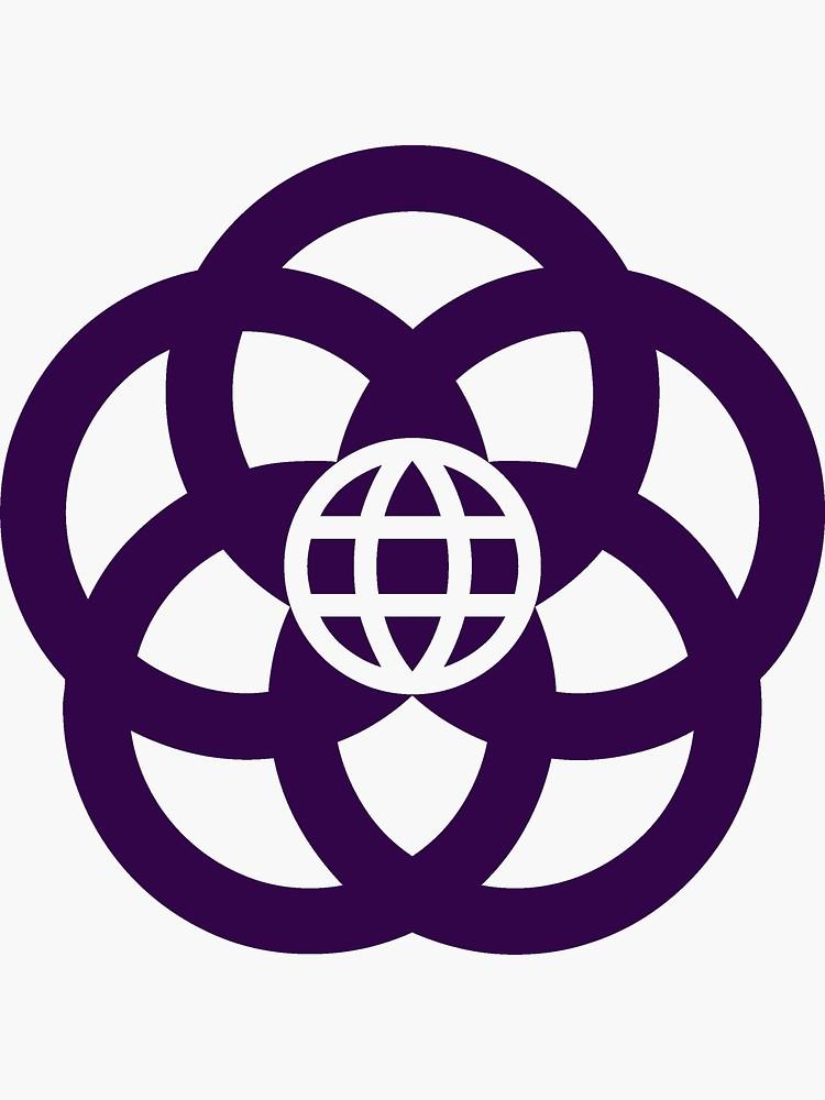 Epcot Center Logo Epcot Center Sticker By Epcotjosh In 2021 Disney Tattoos Epcot Symbolic Tattoos