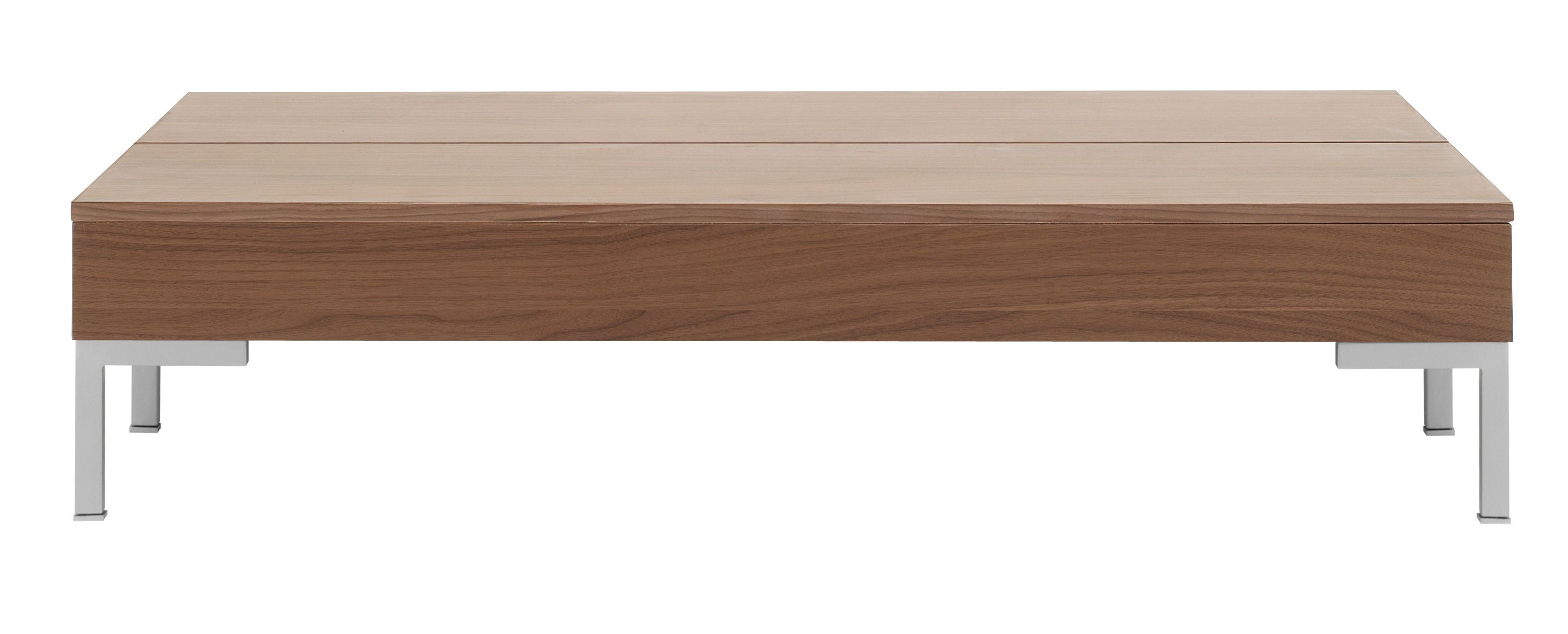 Granville Functional Coffee Table With Storage, Available In Different  Colors. As Shown, Walnut