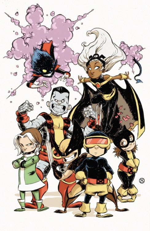 skottie young art | Babies 1 Cover by *skottieyoung