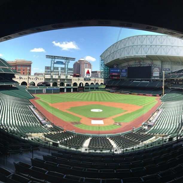 Minute Maid Park From The Broadcast Booth Jeffrey P Minute Maid Park Minute Maid Park Houston Places To Go