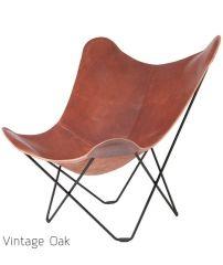 Flagermusstol - Pampa læder - Møbler - CasaShopping