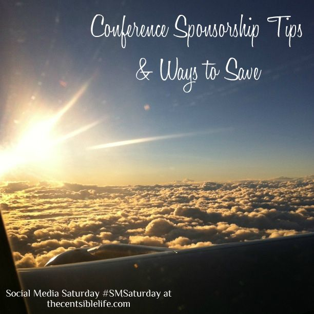 Great post with tips on getting a personal sponsor to a conference
