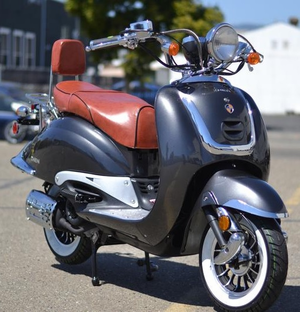 Lancer Heritage Znen 150cc Scooter! - Limited Time Special
