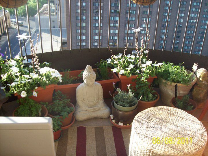 Stunning Apartment Patio Garden Ideas - Interior Design Ideas ...