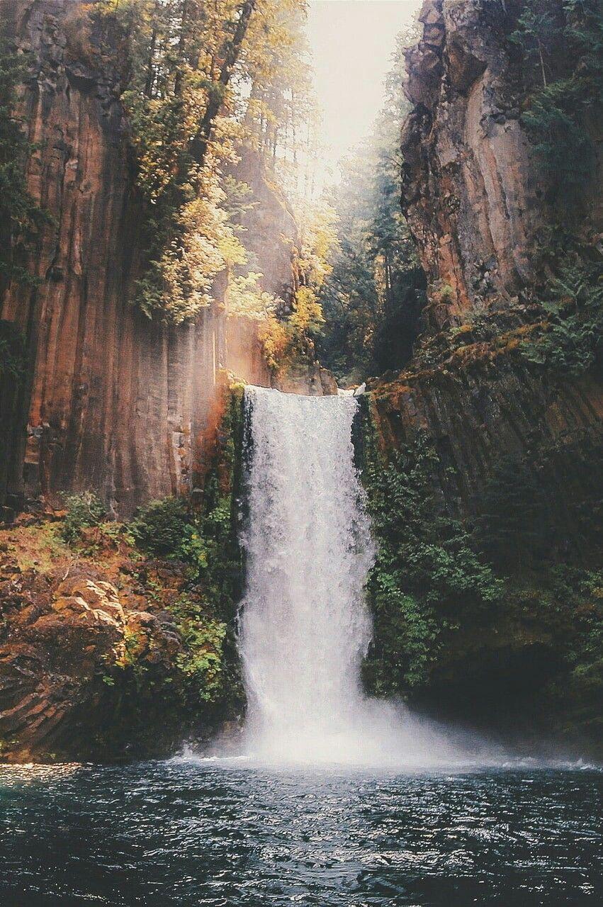 Waterfall Photography Nature Photography Beautiful Landscapes Nature