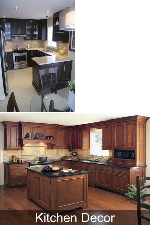 35+ Astonishing Kitchen Design Ideas For Small Apartment #Kitcheninspiration