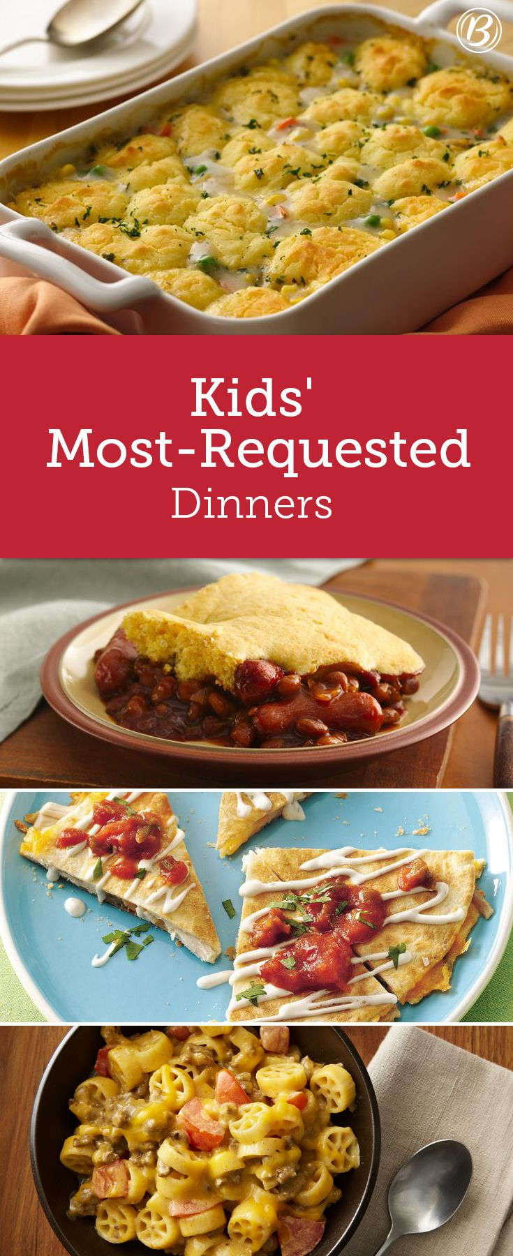 Kids most requested dinners pinterest meals recipes and kid foods avoid the struggle with these guaranteed clean plate club dinner winners forumfinder Choice Image