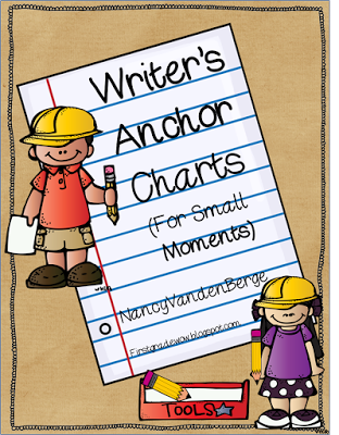 First Grade Wow Writers Workshop Anchor Charts For Small Moments