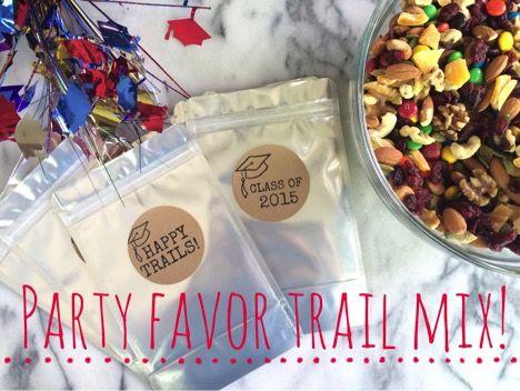 Party Favor Trail Mix Recipe
